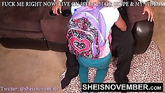 HD BlackSchoolGirl Must Give Step Dad Head For Bad Grades, Innocent StepDaughter Msnovember Suking Daddy Dick POVblowjob On Sheisnovember