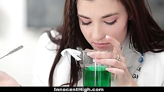 InnocentHigh Hot Girl Jenna Reid Fucked In Chemistry Lab by Teacher
