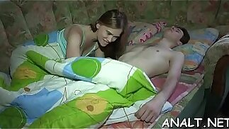 Lusty rear pummeling for lovely legal age teenager