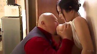 Father fucking big boob japanese step daughter
