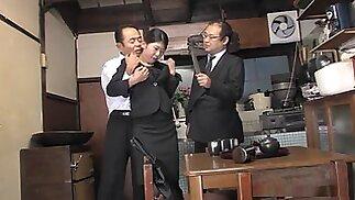 Kinky housewife, Aoi Wajo is playing rough sex games