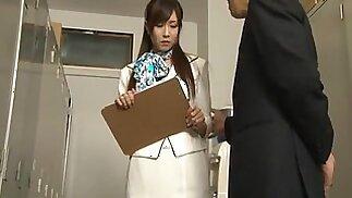 رائع اليابانية فتاة Fuuka Minase، كوتوني Amamiya في الوجه مذهلة، مقطع JAV الإصبع